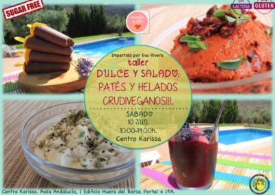 Taller Dulce y Salado | Cocina Crudivegana