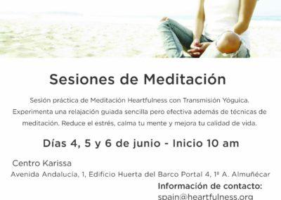 Heartfulness. Sesiones de meditación