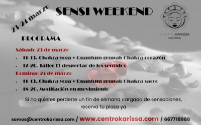 Sensi weekend: 23-24 marzo