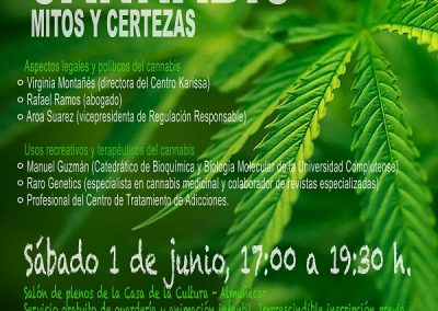 Jornada Cannabis: mitos y certezas