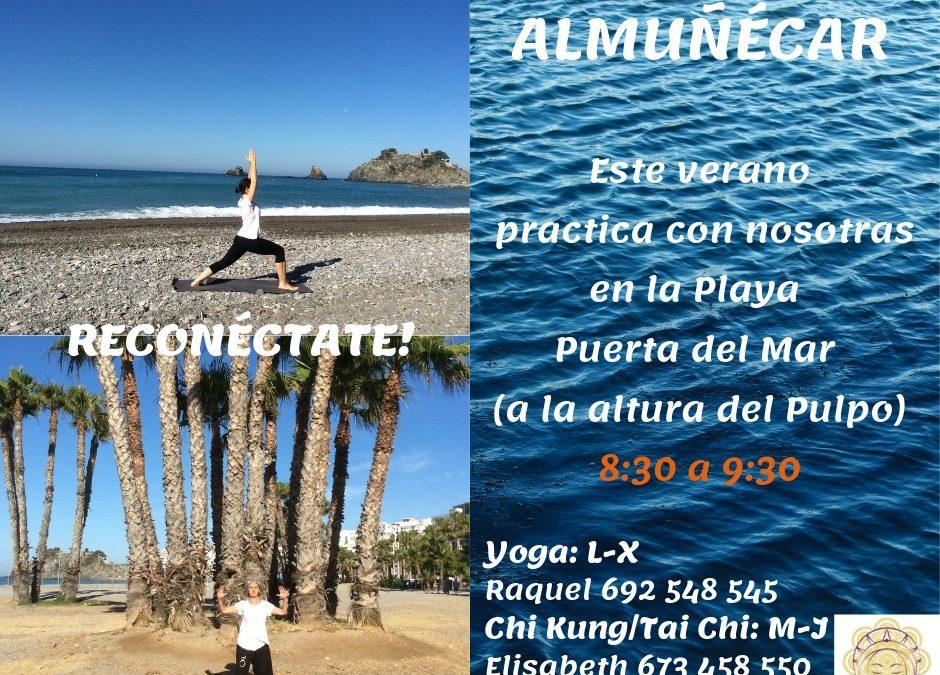 Yoga y Chi Kung/Tai Chi en la playa