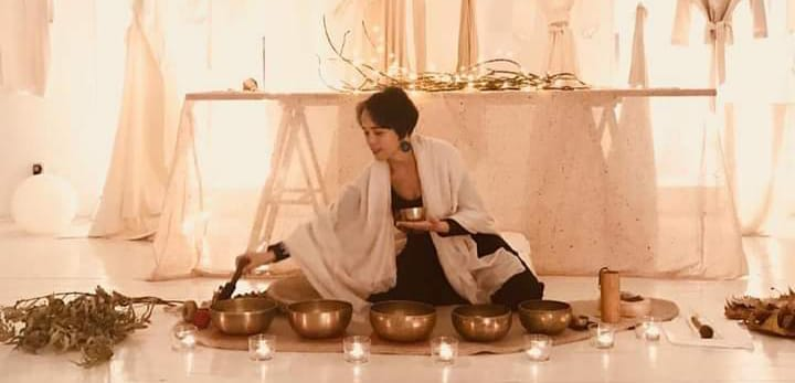 Meditación con sonidos sanadores